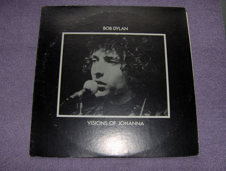 "BOB DYLAN ""VISIONS OF JOHANNA"" OUTTAKES, BERKELEY RECORDS VINYL BOOTLEG LP!!!!!!"