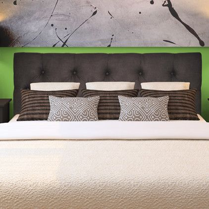 Jackie Queen Upholstered Headboard