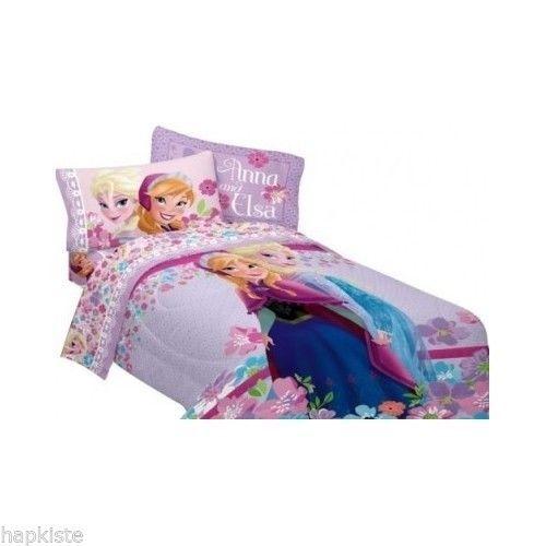 Frozen Comforter Girls Anna and Elsa Twin Bedding Disney Love Blossoms NEW  http://www.ebay.com/itm/Frozen-Comforter-Girls-Anna-and-Elsa-Twin-Bedding-Disney-Love-Blossoms-NEW-/291213709651?pt=Kids_Teens_Bedding&hash=item43cdb09153