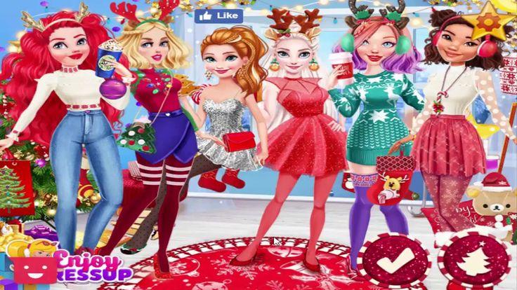 Dress up Games For Girls Princesses Twelve Days of Christmas