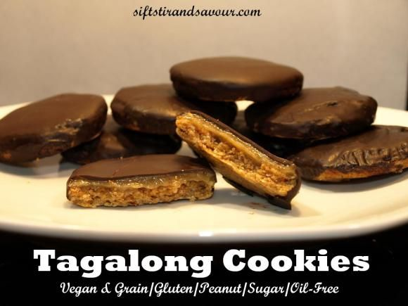 Tagalong Cookies