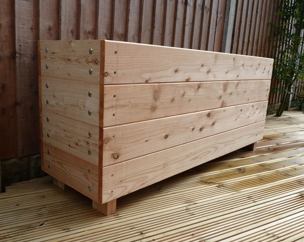 Large Trough Garden Planter Extra Deep Trough Wooden