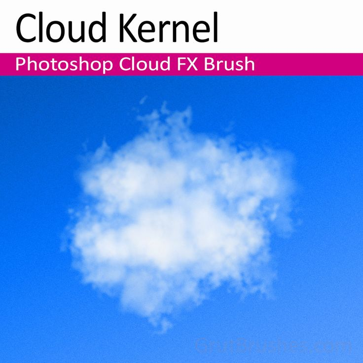 A Photoshop cloud brush with lots of versatility. lightly gives crispy more detailed texture for edges. Apply more pressure and get fluffy cummulus clouds.