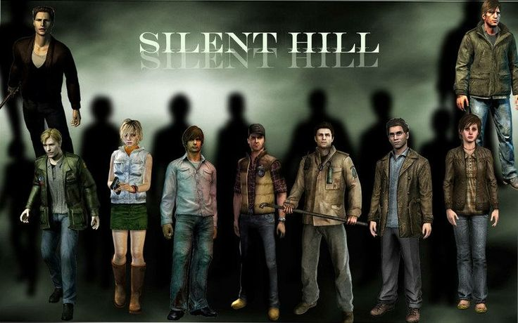 Protagonists of Silent Hill