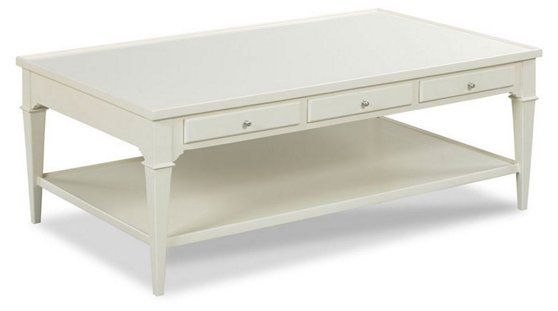 Crewse Coffee Table Pearl White Now 479 00 Was 639 00