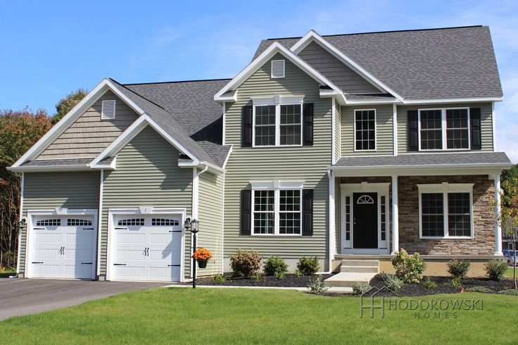 Here Is Our Saratoga B Model With Quot Meadow Quot Color Siding