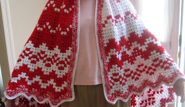 Crochet Pattern For Peppermint Afghan : Pin by Melissa on Hooks and Sticks Pinterest