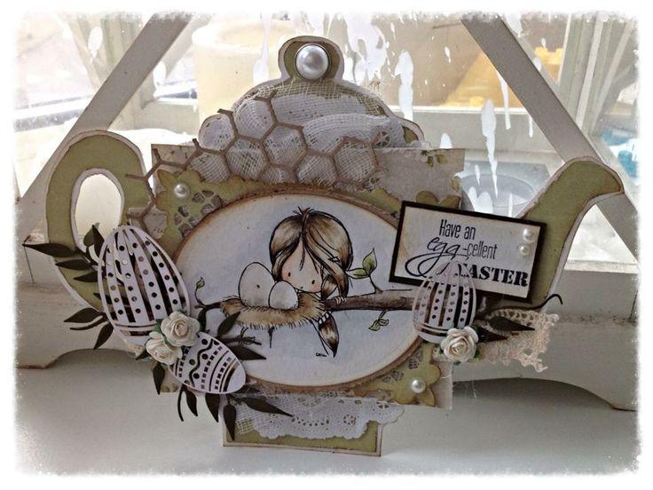 472.948.018 Dutch Doobadoo Paper Art Eggs door Raffaela Perego