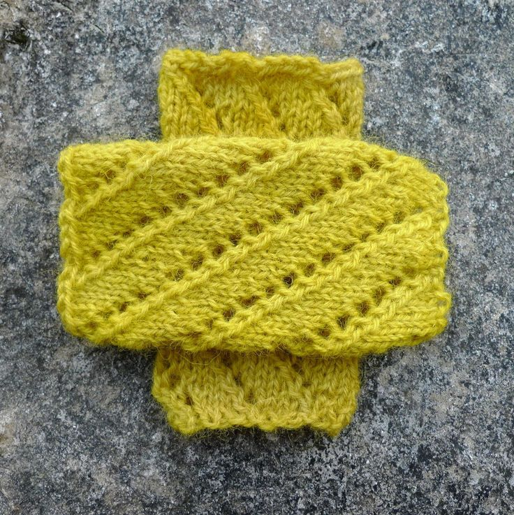 Lacy wrist warmes. soft arm warmers. fingerless gloves, handknit with homegrown Irish wool dyed bright yellow with onion skins, gift for her by FormerlyFleece on Etsy