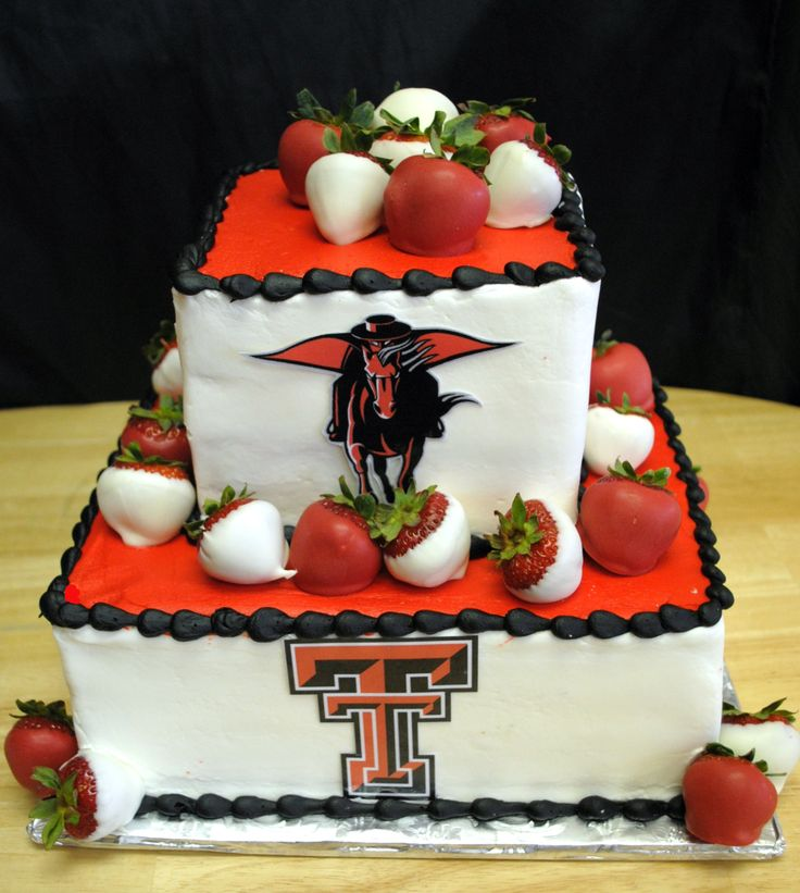 Texas Tech Red Raiders grooms cake