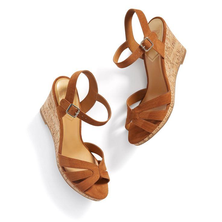 Stitch Fix Summer Styles: Wedge Sandals