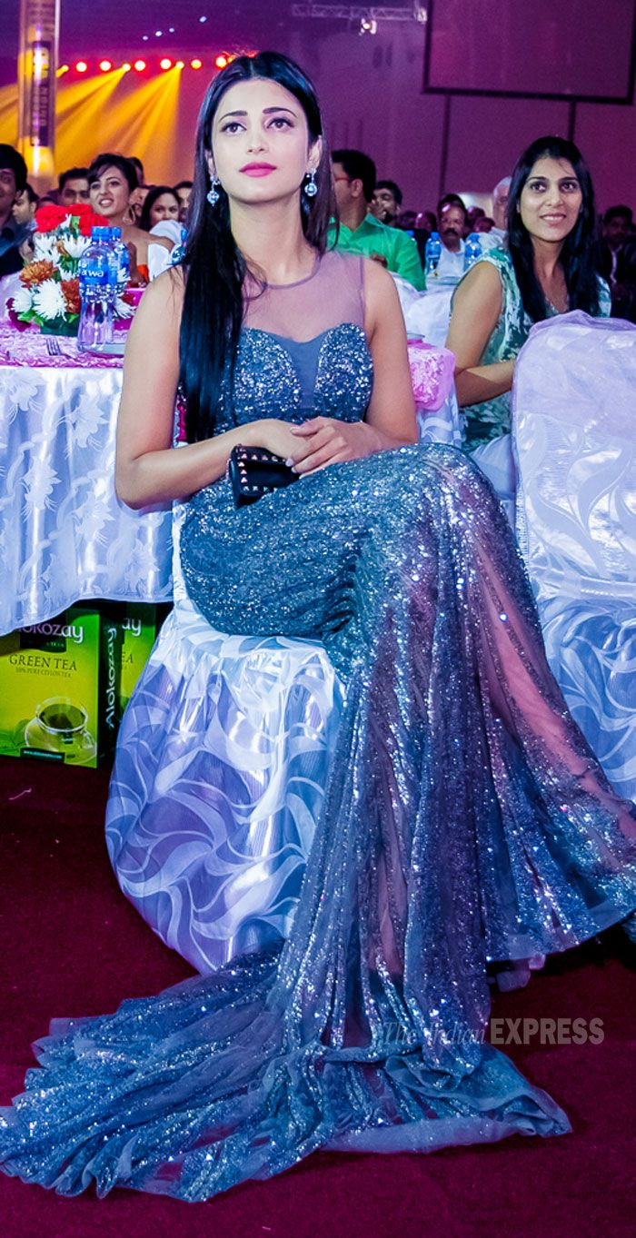 Shruti Haasan at SIIMA Awards 2013