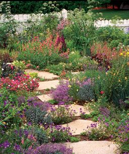 Less grass to mow.: Tom Peace, Frontyard, Front Yard Gardens, Guy, Front Yards, Wild Flower Garden, No Time