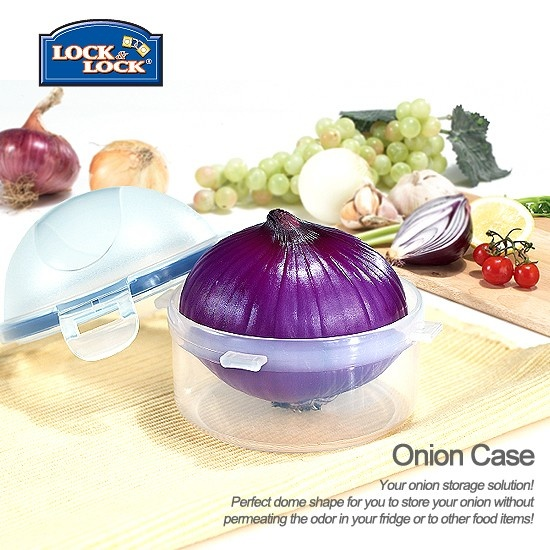 Where else can you get an airtight onion case?