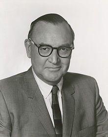 "Edmund Gerald ""Pat"" Brown, Sr. (1905-  1996) was an American politician and lawyer who served as the 32nd Governor of California from 1959 to 1967. Born in San Francisco, Brown had an early interest in speaking and politics. Brown was born in San Francisco, California, one of four children of Ida (née Schuckman) and Edmund Joseph Brown. His father was of Irish Catholic descent, and his mother was from a German Protestant family. His son Jerry Brown is currently Governor of California."