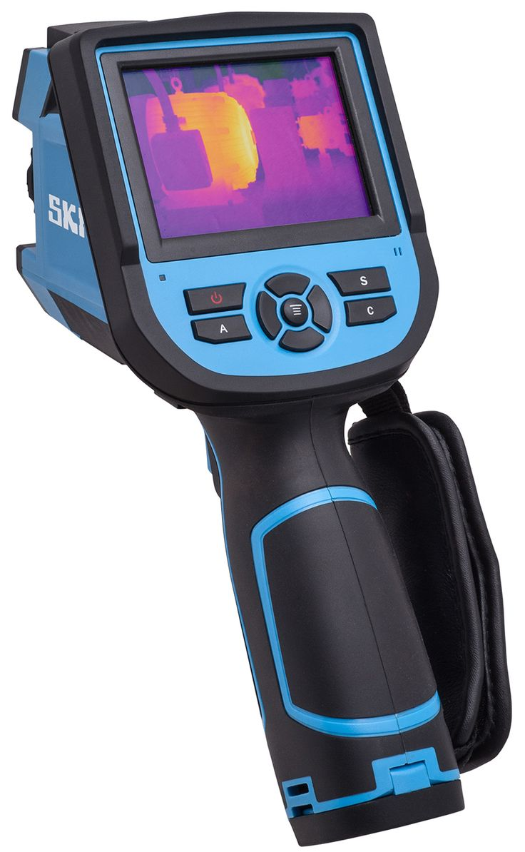 TKTI 31 SKF-High-resolution thermal camera for plant and building inspections