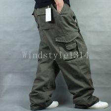 Mens Baggy Cargo Pants   eBay