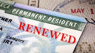 Learn about the green card renewal process.