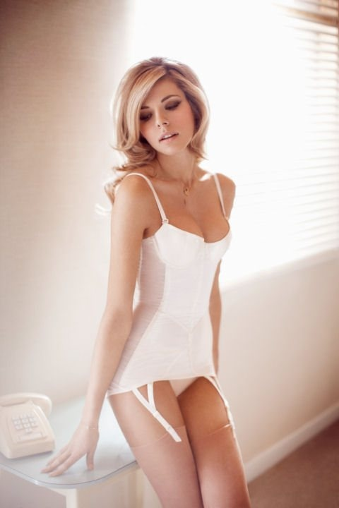 Beautiful bridal lingerie from Rigby and Peller