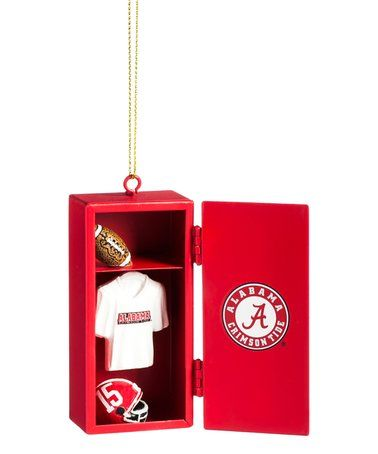 Alabama Crimson Tide Locker Ornament #zulily #zulilyfinds