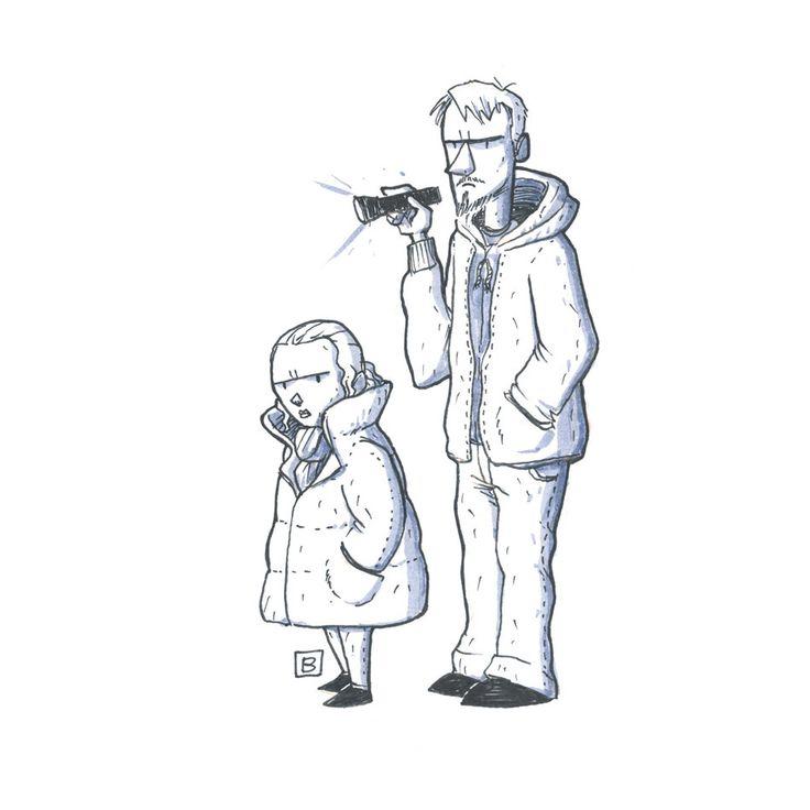 Sarah Linden and Stephen Holder (The Killing)