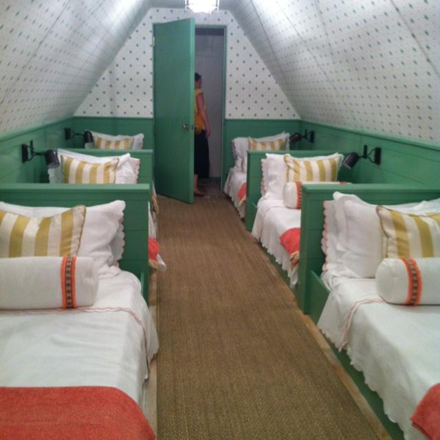 Bunk room- Coastal Living Ultimate Beach House