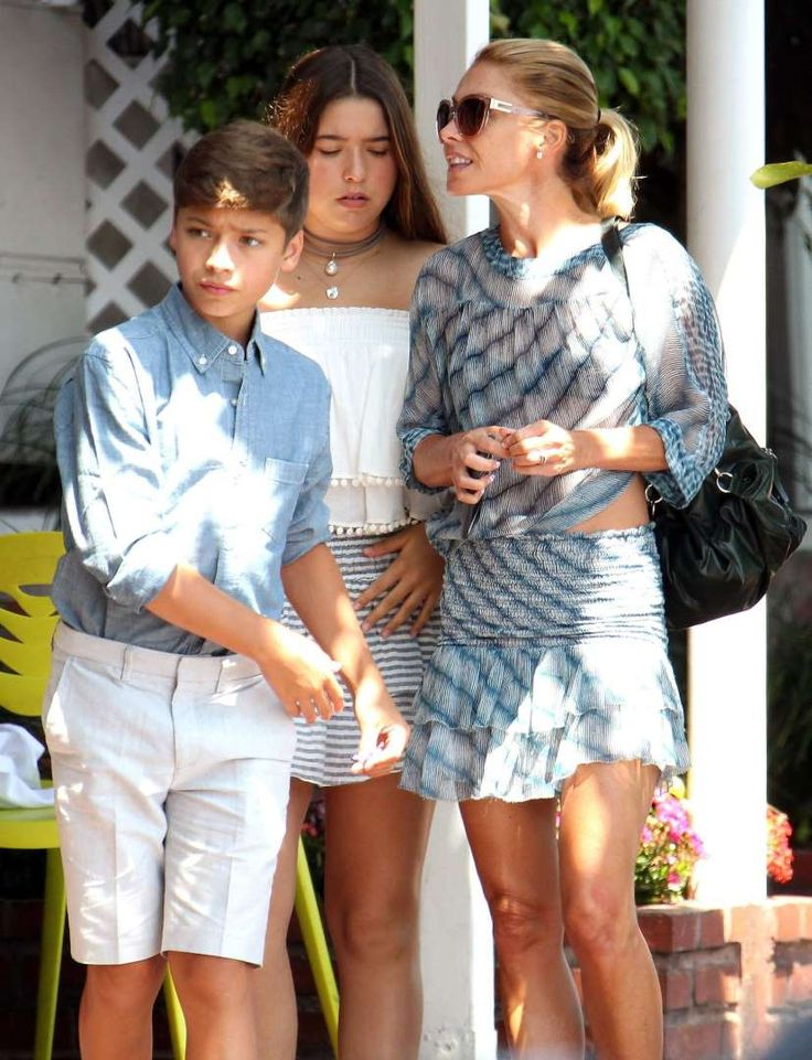 Celebs and their cute kids in 2016:       Kelly Ripa, son Joaquin Consuelos and daughter Lola Consuelos grabbed lunch and went shopping at Fred Segal in West Hollywood on Aug. 8.