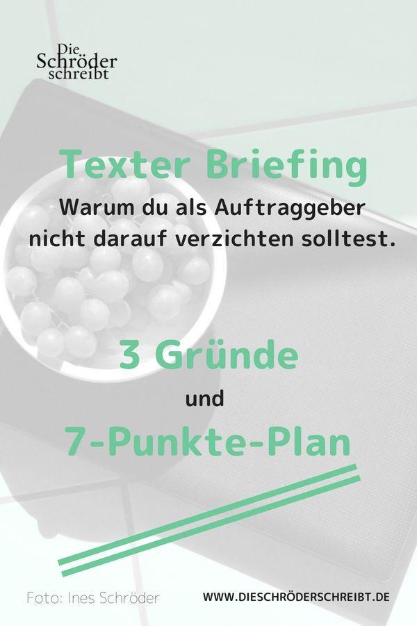 Das Perfekte Texter Briefing 7 Einfache Schritte Texter Finden