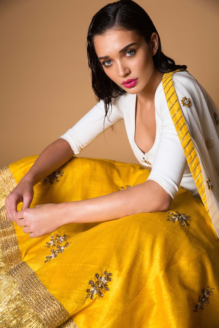 Amy Jackson for March issue with Pernias Pop Up Shop. #indianfashion #indiandesigners #thebeautyissue #marchissue #ppus #shopnow #happyshopping