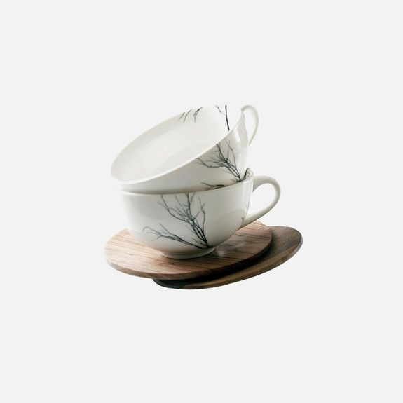 Love Milo - Tree Tea Cup & Saucer Set