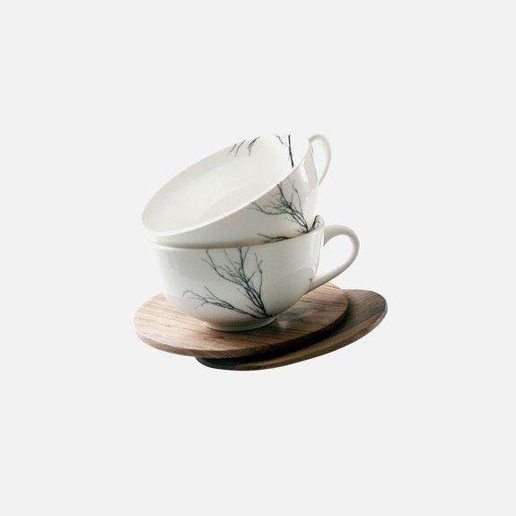 Love Milo - Tree Tea Cup & Saucer Set