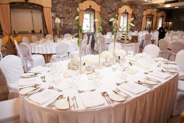 table setting at Ballymagarvey Village
