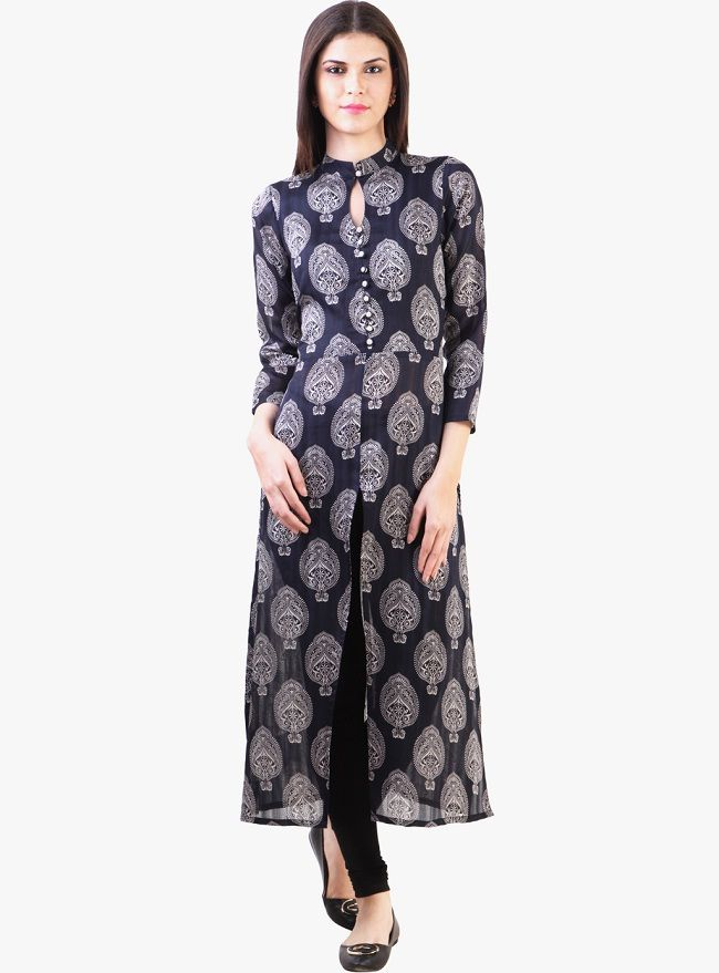 Latest Designer Kurtis With Different Cut Types Or 34