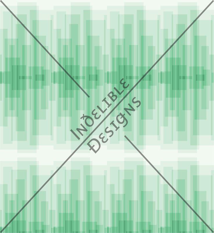 ID#15CE — Iɴðɛʟɪʙʟɛ Ðɛsɪǥɴs #screenprint #printdesign #textiledesign #textileprint #layer #line #linear #green #shape #rectangle #white #fade #gradation #mint