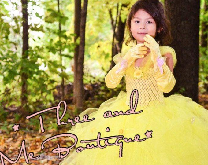 Belle Tutu Dress - Beauty and the Beast Princess Dress