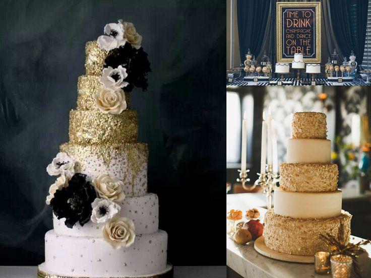 The Great Gatsby Wedding Cake (5120×3840)