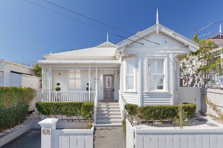 victorian villa nz verandah - Google Search