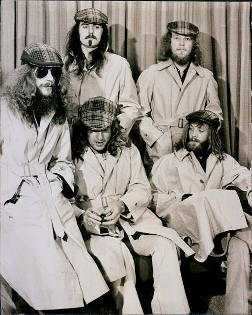 Jethro Tull, trenchcoat session in Germany 1972
