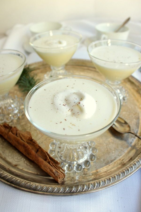 IN THE KITCHEN :: cooked custard eggnog | Valley & Co. Lifestyle