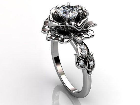 Best 20 Flower engagement rings ideas on Pinterest Beautiful