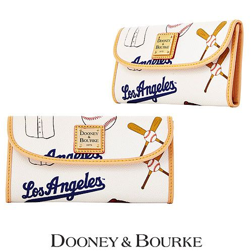 Los Angeles Dodgers Continental Clutch by Dooney & Bourke - MLB.com Shop