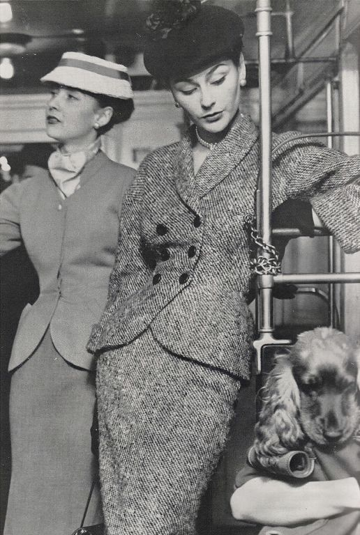 Balenciaga Tailleurs, c 1950.                                                                                                                                                                                 Plus