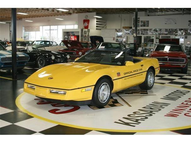 1986 Chevrolet Corvette Convertible Indy 500 Pace Car