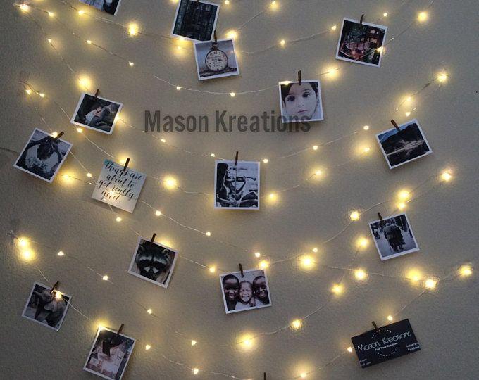 Nachtlicht Lichterkette Schlafzimmer Inneneinrichtungen Wohnzimmer Wand Dekor Wand Lichterkette Beleuchtung Im Schlafzimmer Batterie Betrieben Licht St Fairy Lights Bedroom Fairy Lights Hanging Lights
