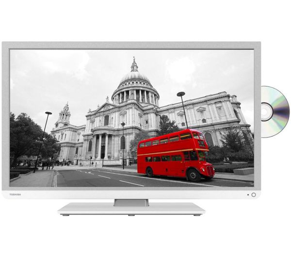 """32D3454DB Smart 32"""" LED TV with Built-in DVD Player"""
