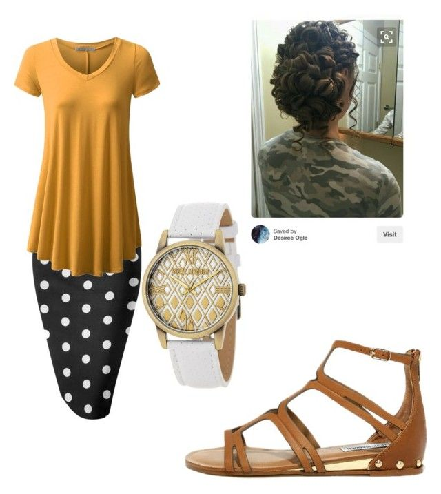 pentecostal outfit by womensmodestfashion on Polyvore featuring polyvore fashion style Whit Steve Madden clothing