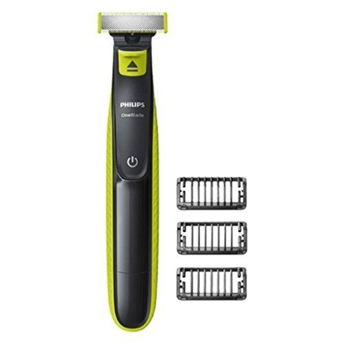 Philips rasoir, tondeuse à barbe One Blade QP2520/20 abwaschbar verde clair, brun gris: Philips OneBlade QP2520/20, OneBlade. Longueur de…