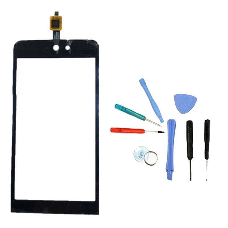 LINGWUZHE Out Glass Touch Sensor Black Screen Digitizer For wiko rainbow jam 4g Replacement Parts Tools #Affiliate
