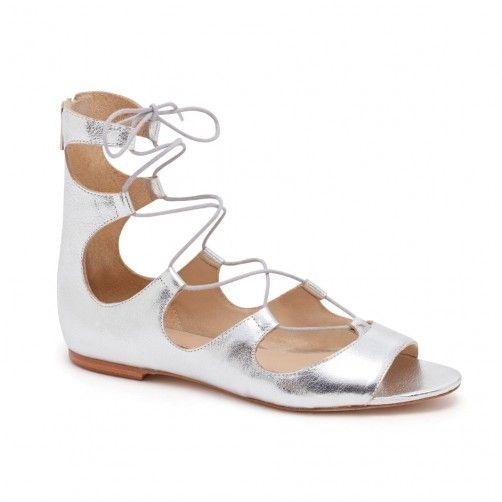Loeffler Randall   Dani Lace-Up Sandal - Flats   Loeffler Randall