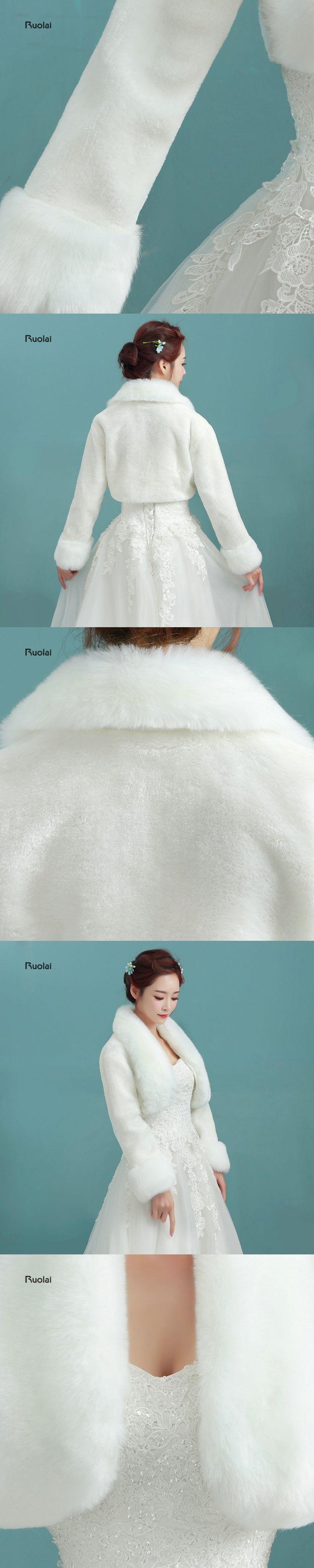 2017 Hot Sale In Stock Ivory Elegant Bridal Fur Wedding Boleros Jacket Wrap Ivory Shawl Bolero For Wedding Party